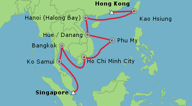 Asia Cruise Deals 2018 2019 Cruises In Asia Cruises From Singapore Cruise Guru