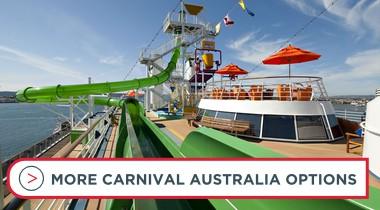 Book Carnival Australia cruises