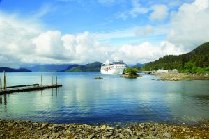Explore the wilderness of Alaska with Oceania