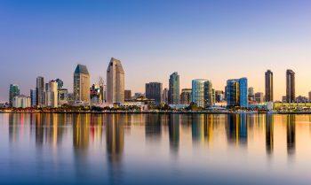 San Diego Panoramic Skyline