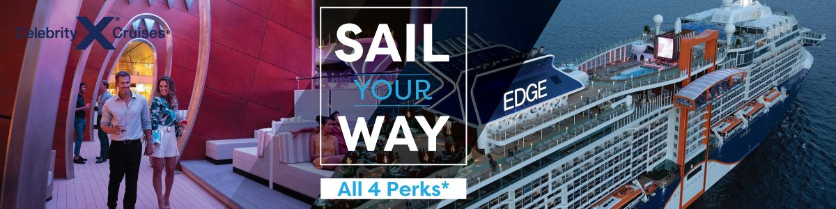 Celebrity Cruises- 4 perks for free