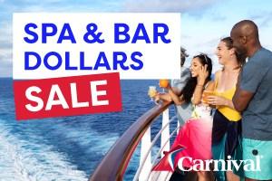 Carnival Cruises Spa Dollars Offer