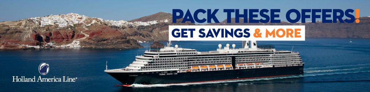 Holland America Line offer with reduced fares
