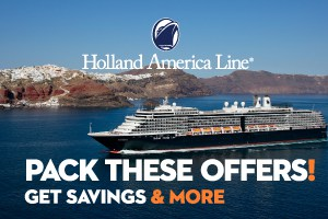Holland America Line Pack these offer sale