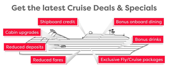 Get the latest Cruise Deals & Specials